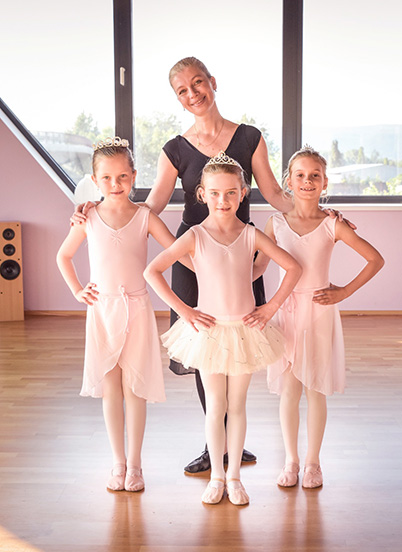 Izabela Stehlíková, špecialista na kurzy baletu pre dospelých a deti